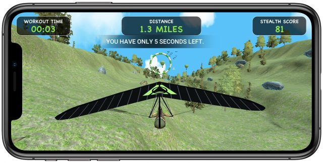 Stealth Fitness game Speed Gliding