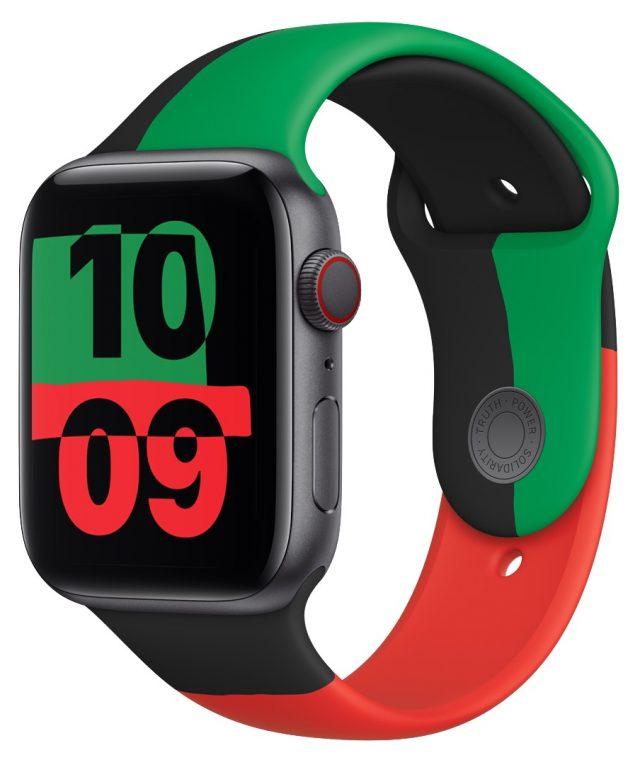 Black Unity Apple Watch