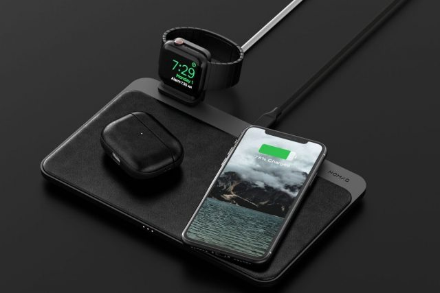 Base Station Pro with Apple Watch, iPhone, and AirPods Pro