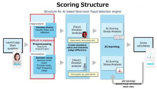DeepScore scoring structure
