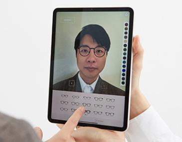 Customizing glasses with Breezm