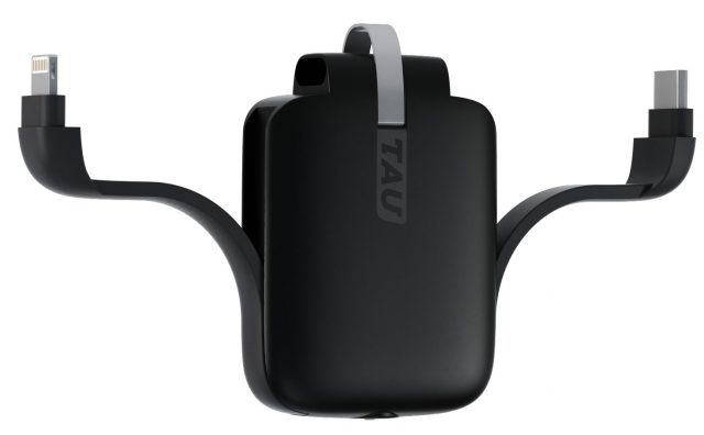 De Tau, een sleutelhanger annex batterijoplader
