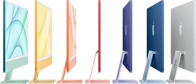 Verschillende kleuren 24 inch-iMac