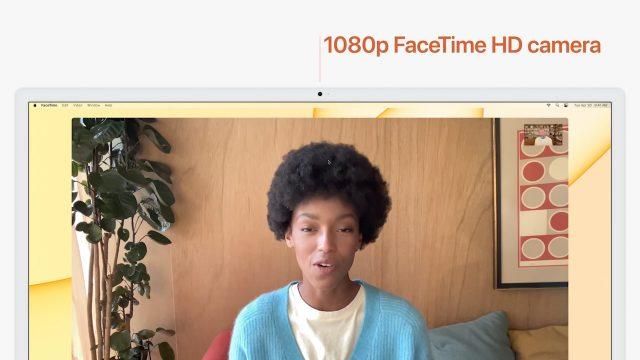 24-inch iMac 1080p FaceTime HD camera
