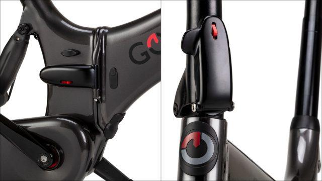 Gocycle folding mechanism