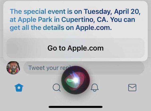 Siris evenementenlek