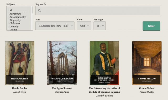 The Standard Ebooks library