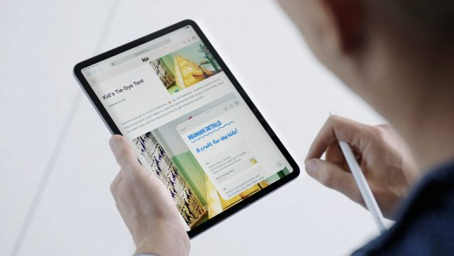 Quick Note in iPadOS 15