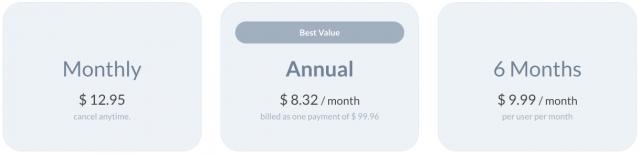 Wavebox pricing options