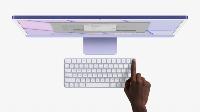 Touch ID on 24-inch iMac