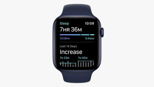 watchOS 8 Sleep app