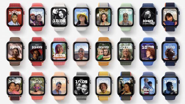 watchOS 8 Portraits face