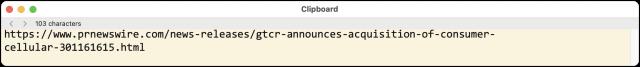 BBEdit 14 Clipboard window
