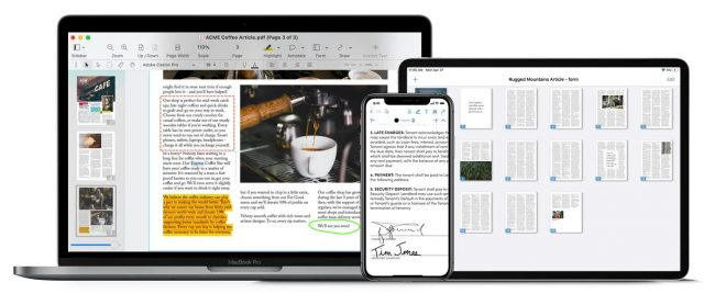 PDFpen on multiple Apple devices