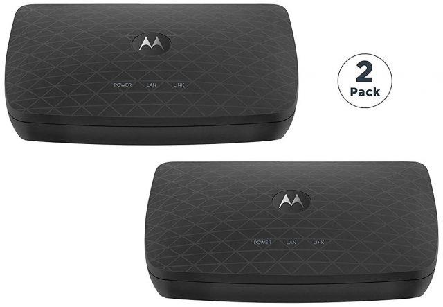 Motorola MoCA adapters