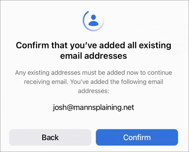 E-mailadres bevestigen