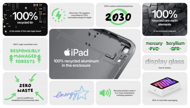 iPad mini environmental card