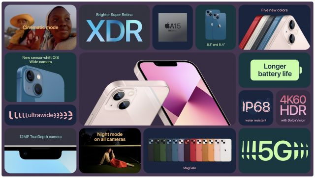 iPhone 13 feature details