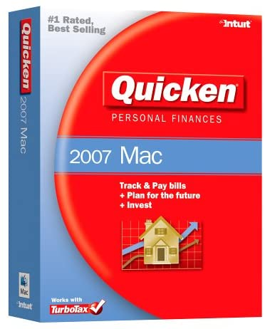 Quicken 2007 box